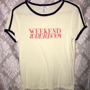 Forever21 Weekend Wanderer t-shirt